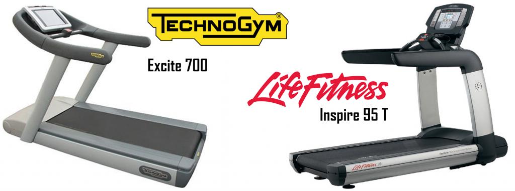 Technogym és Life Fitness használt futópad