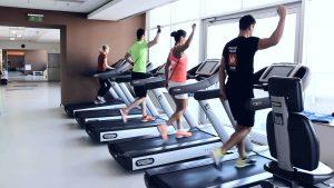 edzés használt futópad segítségével