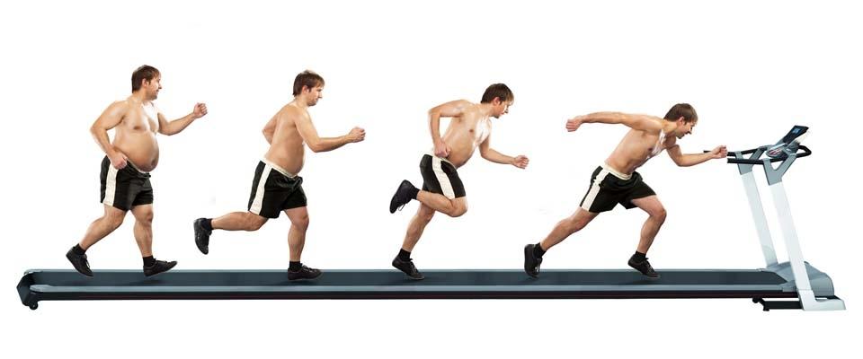 használt futópad HIIT edzés