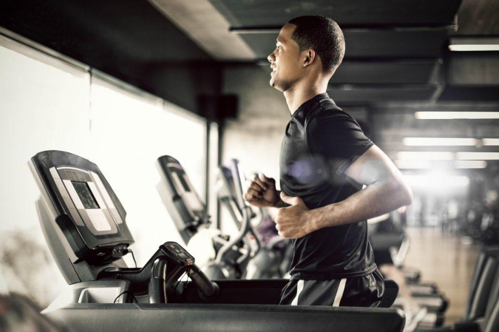 Ontervall használt futópad edzés