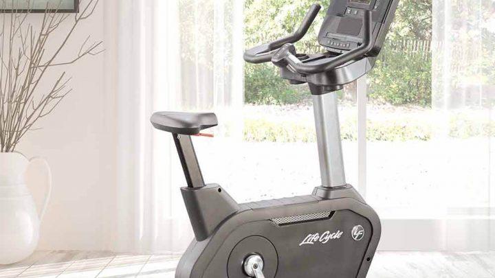 Life Fitness használt szobabicikli otthoni használatra
