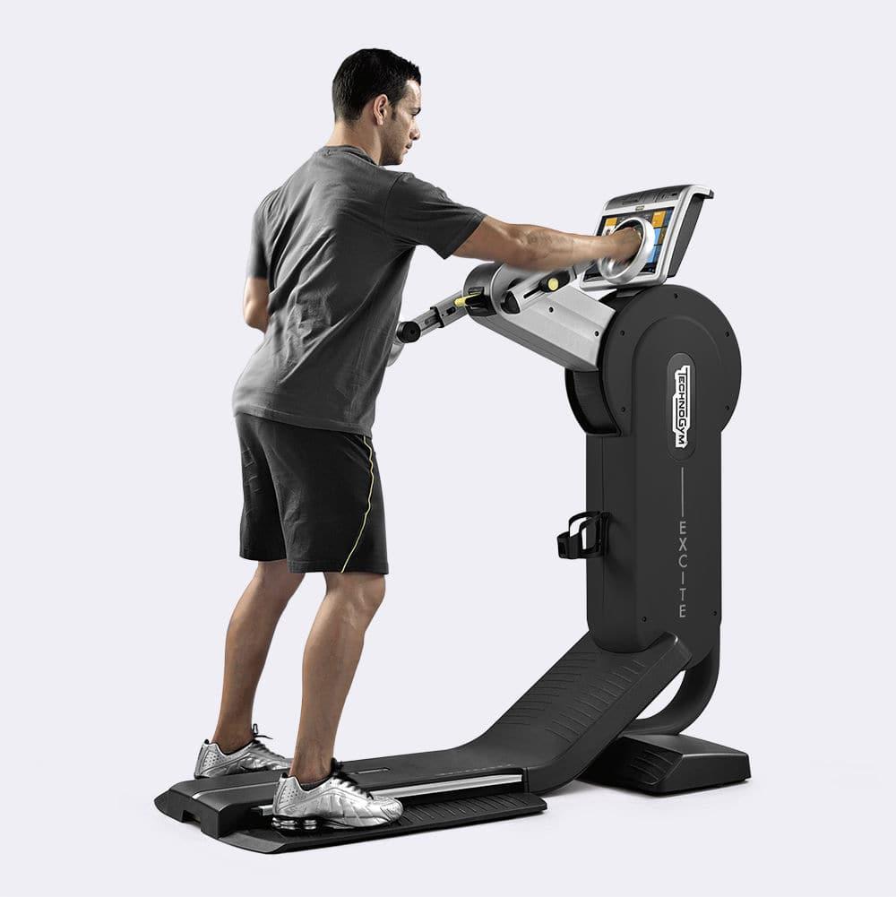 Technogym Excite használt top edzés közben