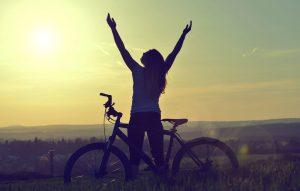 kerékpározás a szabadban