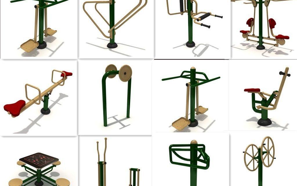 Használt kültéri fitnesz eszközök, kondigépek