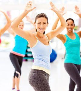 zsírégető edzés, aerobik
