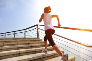 lépcsőző edzés a szabadban - használt taposógép otthon