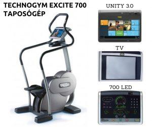 Technogym Excite 700 használt taposógép