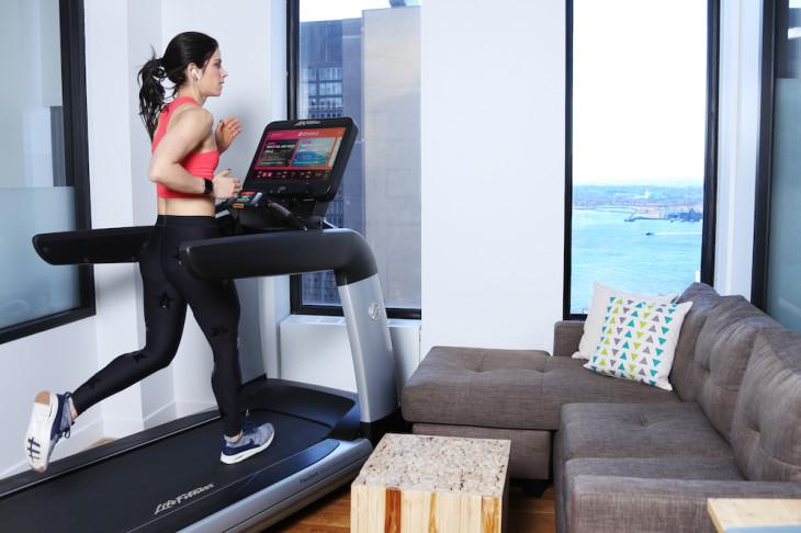 life fitness használt futópad otthonra