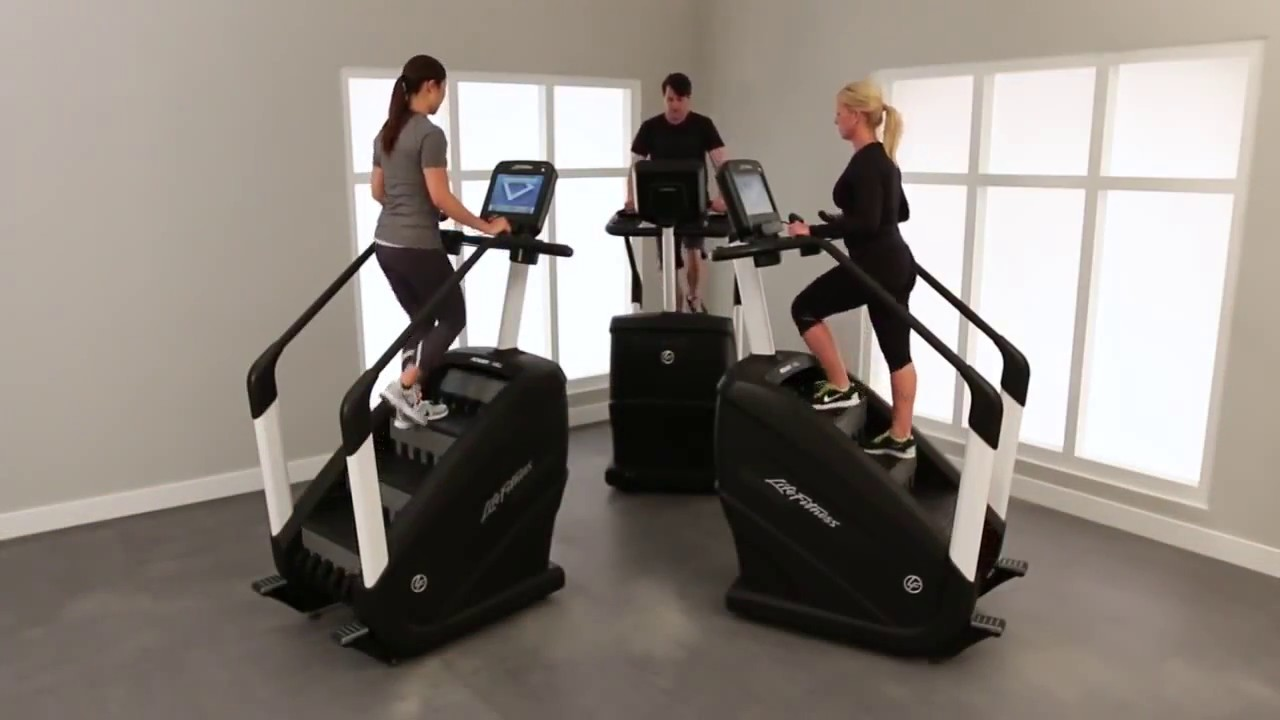 Life Fitness Powermill használt lépcsőzőgép