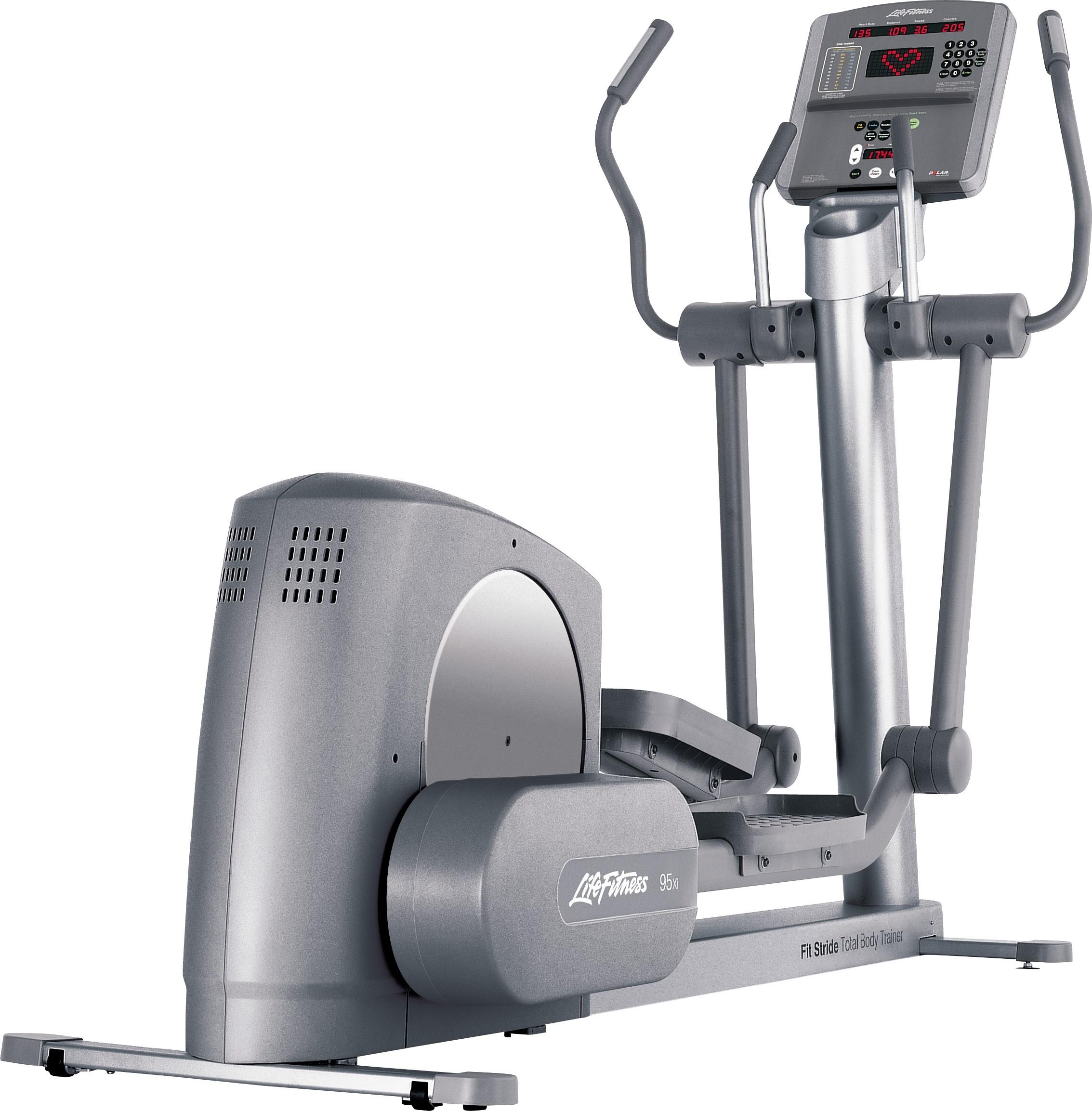 Life Fitness 95Xi használt elliptikus tréner