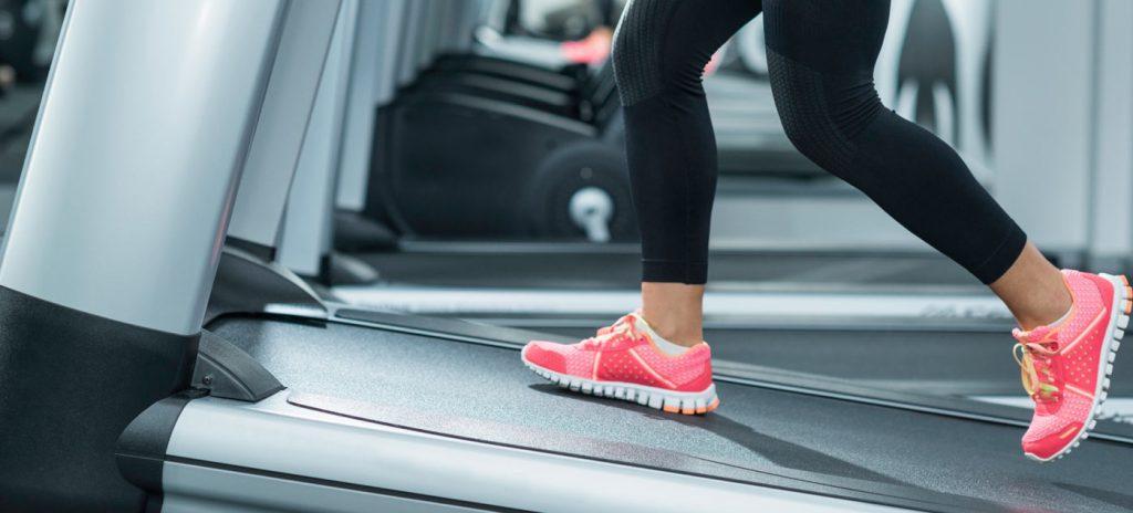 Edzés használt futópad használatával