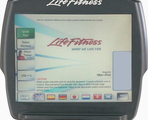 Life Fitness 95R Inspire használt szobabicikli