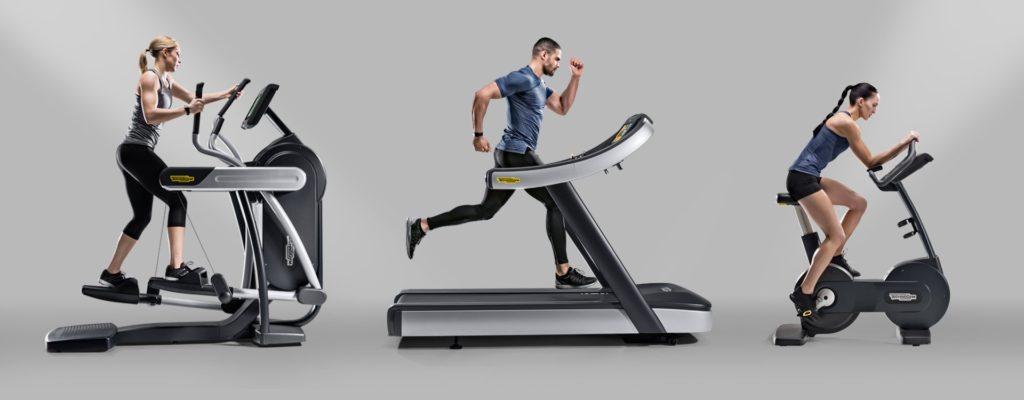 Technogym elliptikus tréner, futópad, szobabicikli
