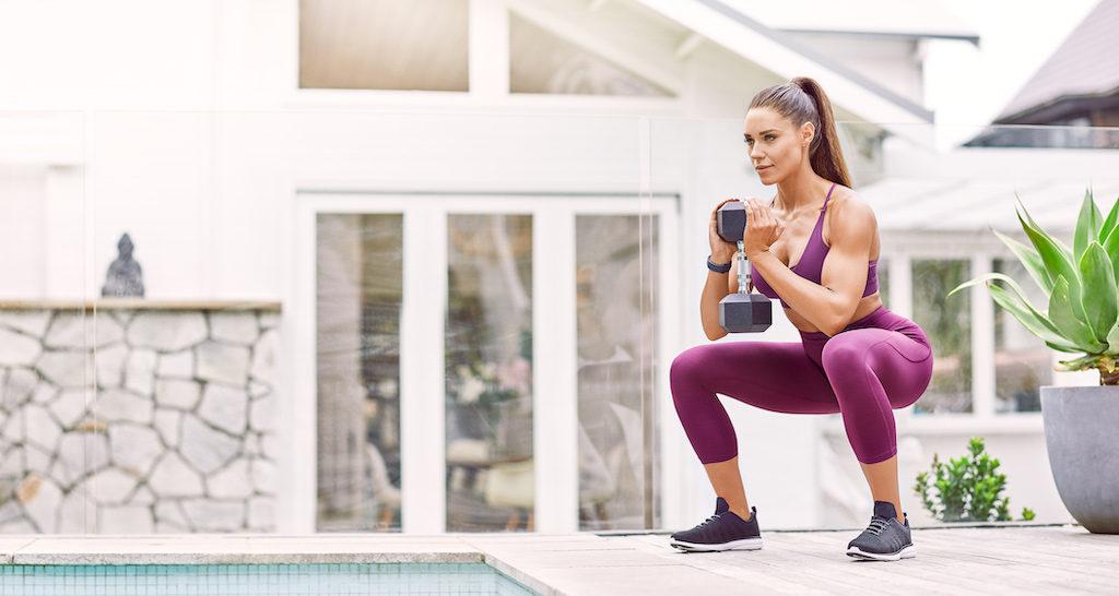 otthoni edzés gyakorlatok-guggolás