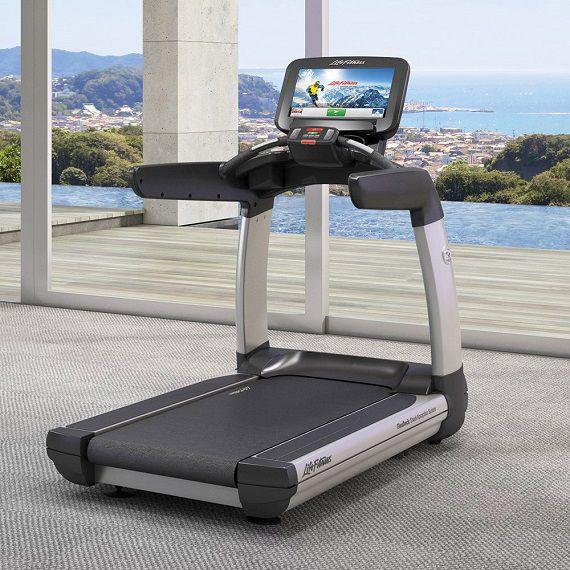 life fitness használt futópad edzés bemelegítésre