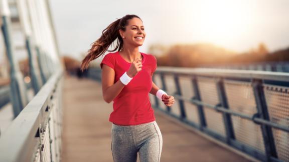 futás boldogság